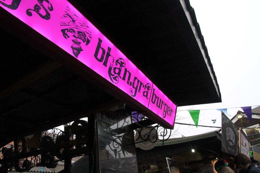 Kerb Camden - Bhangra Burger