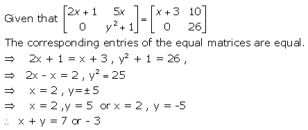 RD Sharma Class 12 Solutions Chapter 5 Algebra of Matrices Ex 5.1 Q15