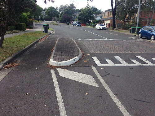 Good speed bump design, Templestowe