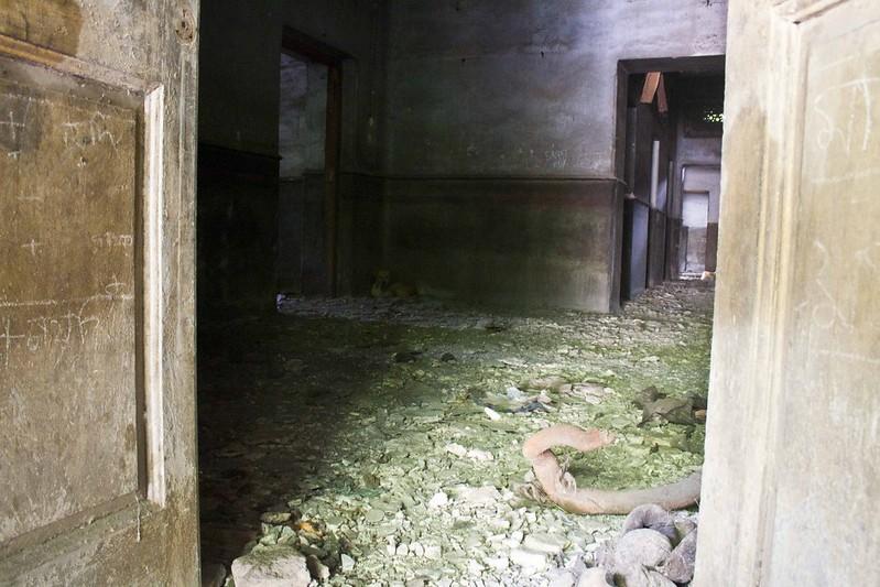 Inside of Mayo Hospital or Hari Dass Saha Institute - Kolkata, India