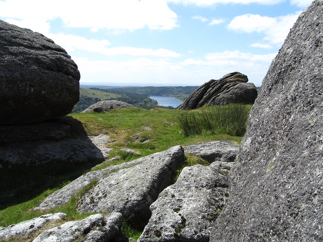 Burrator Reservoir from Down Tor