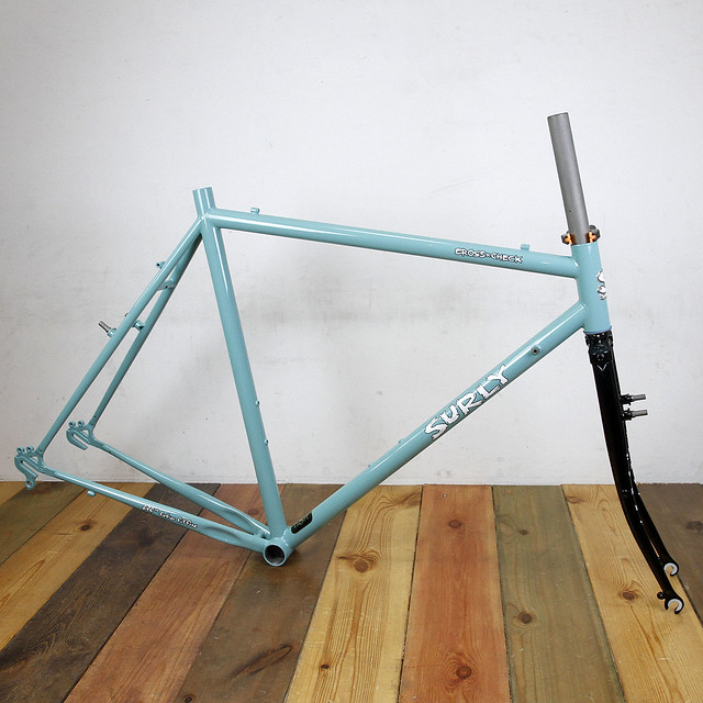 SURLY CROSS-CHECK CUSTOM PAINT BY SWAMP THINGS