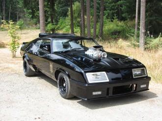 Dale Walter's custom Interceptor by Mad Max Cars