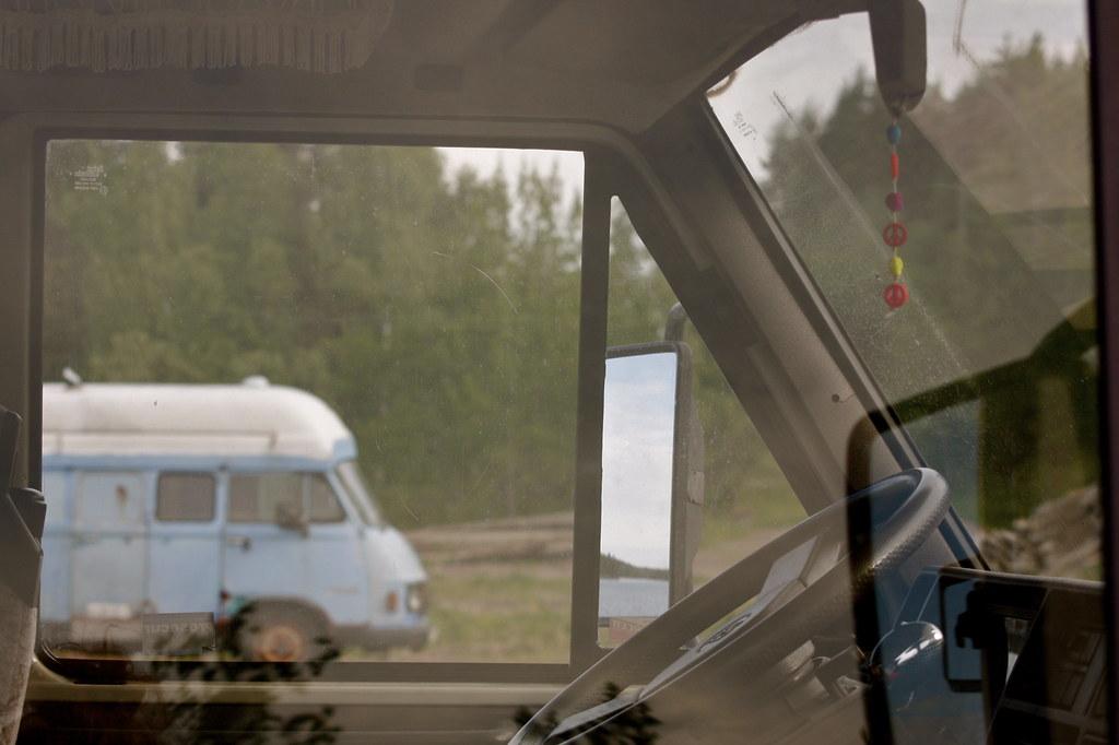 elämä asuntoautossa