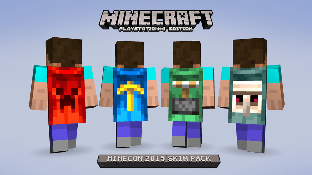 MineCon2015_PS4_Lineup_4xSteve