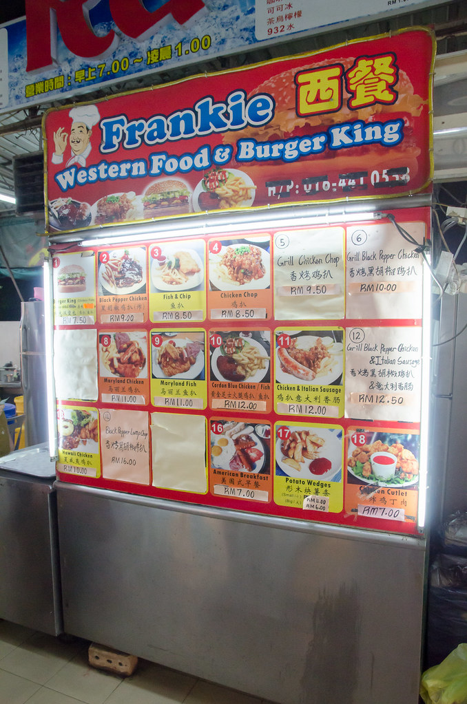 Western Food and Burger stall