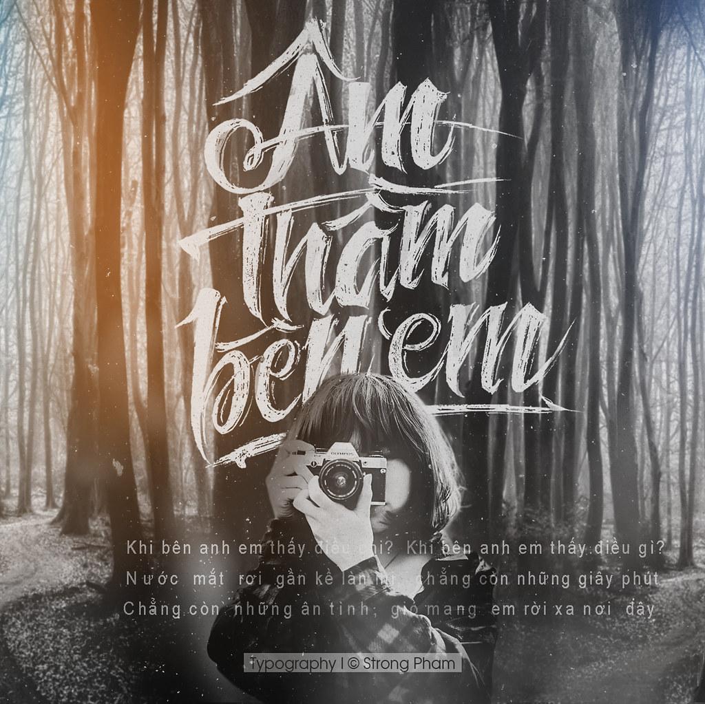 ... ÂM.THẦM.BÊN EM | Typography | © Strong Pham | 2015 | BNW