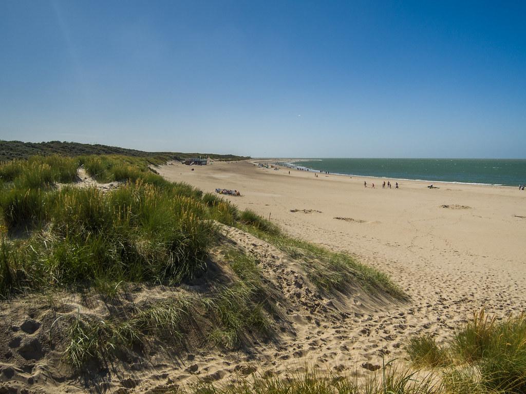 Beach Renesse Holland Strand D Ne Dronepicr Flickr