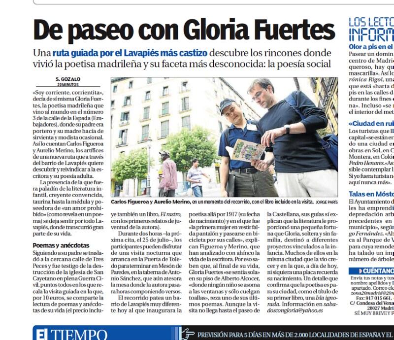 De paseo con Gloria Fuertes