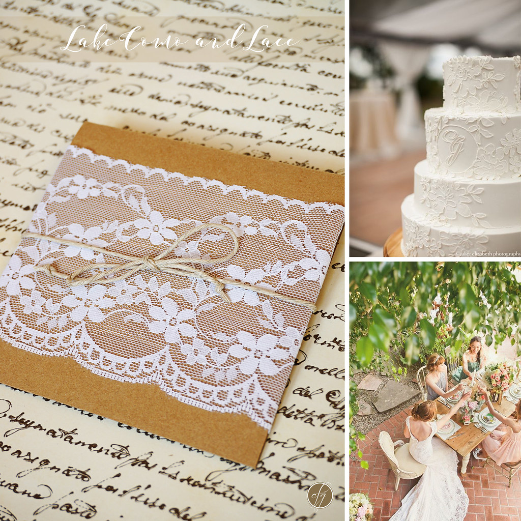 Partecipazioni Matrimonio Handmade.Lake Como And Lace Wedding Invitations Partecipazioni No Flickr