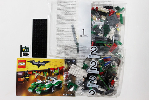 The LEGO Batman Movie Riddler Riddle Racer (70903)