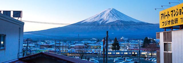 早安・富士山