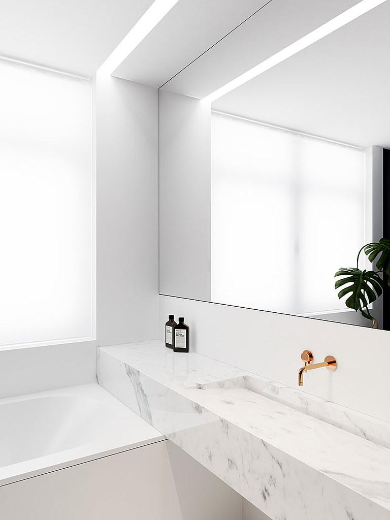 Modern minimalist interior design with skin tones by Emil Dervish Sundeno_10