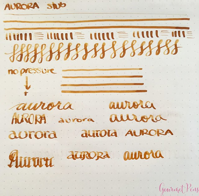 Aurora Nibs - Fine, Medium, Broad, Italic, Stub @Iguana_Sell 19