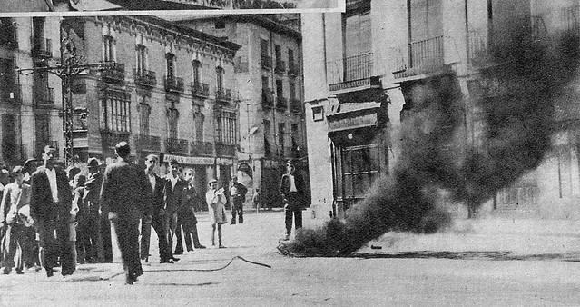 Ruta Zaragoza Rebelde. Imagen de archivo