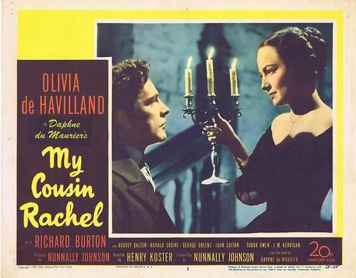My Cousin Rachel - 1952 - lobbycard 3