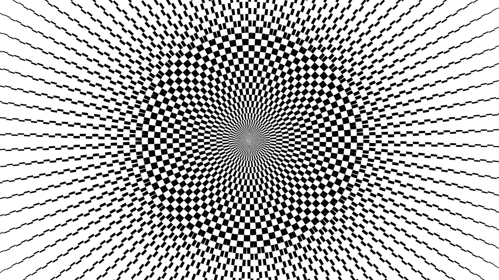 Черно-белый мираж из одного изображения, вариант 1