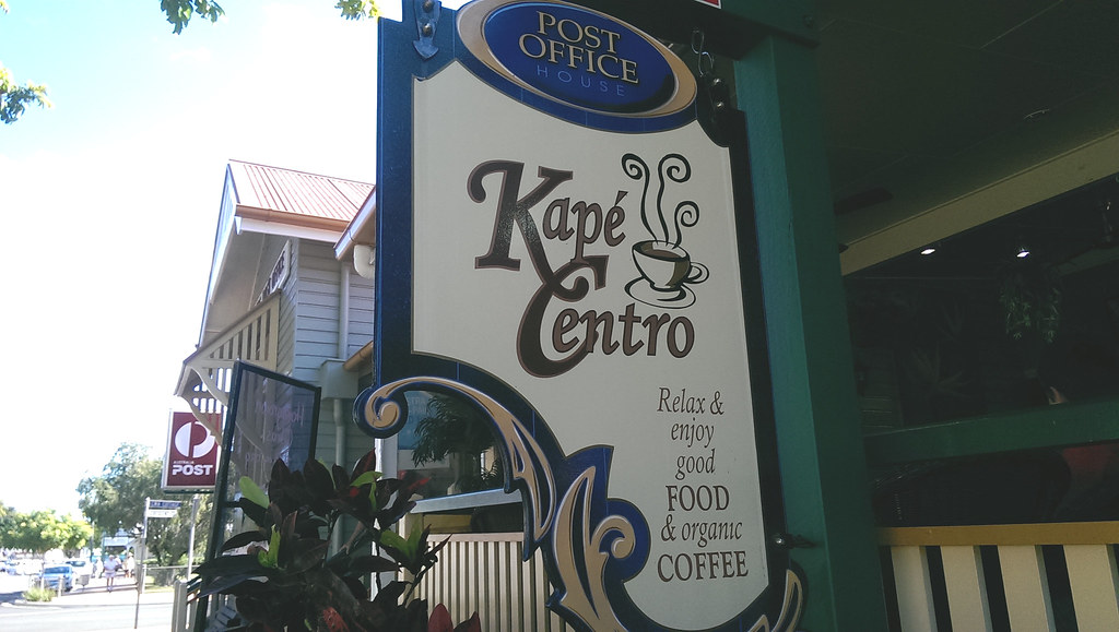 Kape Centro Café has beautiful home-baked food