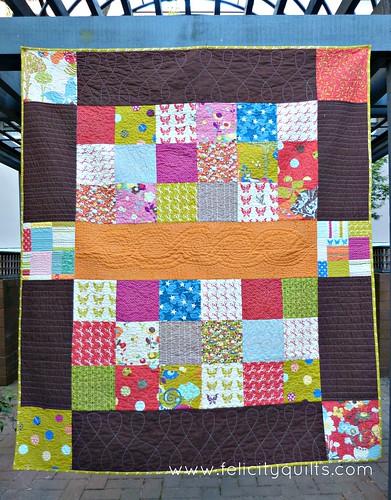 Wonderland quilt front