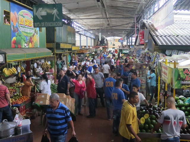 The large indoor market - Plaza Minorista