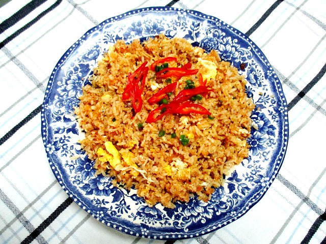 Bacon sambal fried rice 1