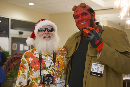 Vacation Santa and Hellboy