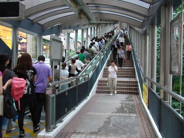 escalator hHong Kong obiective turistice