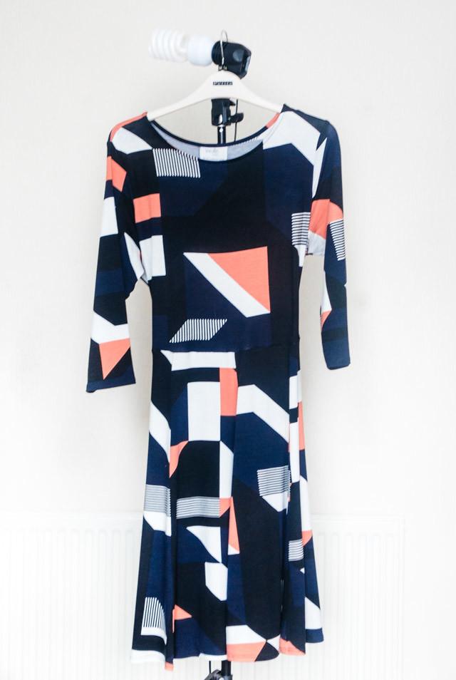 full length wallis petite fit and flare dress