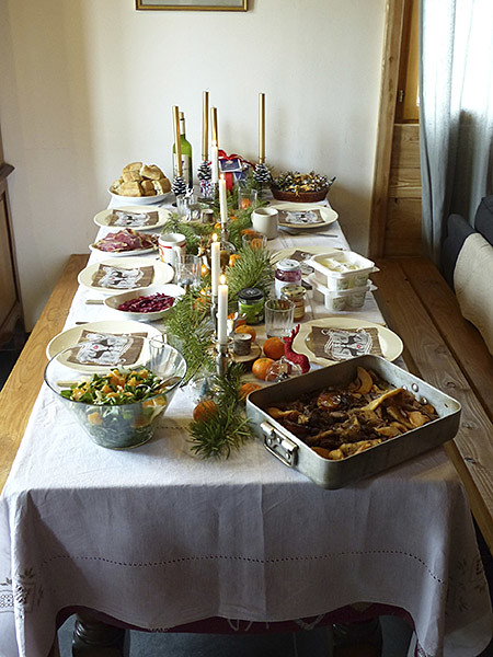 table de brunch de noel 2