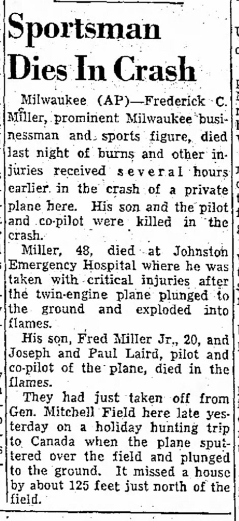 Miller-sportsman-dies