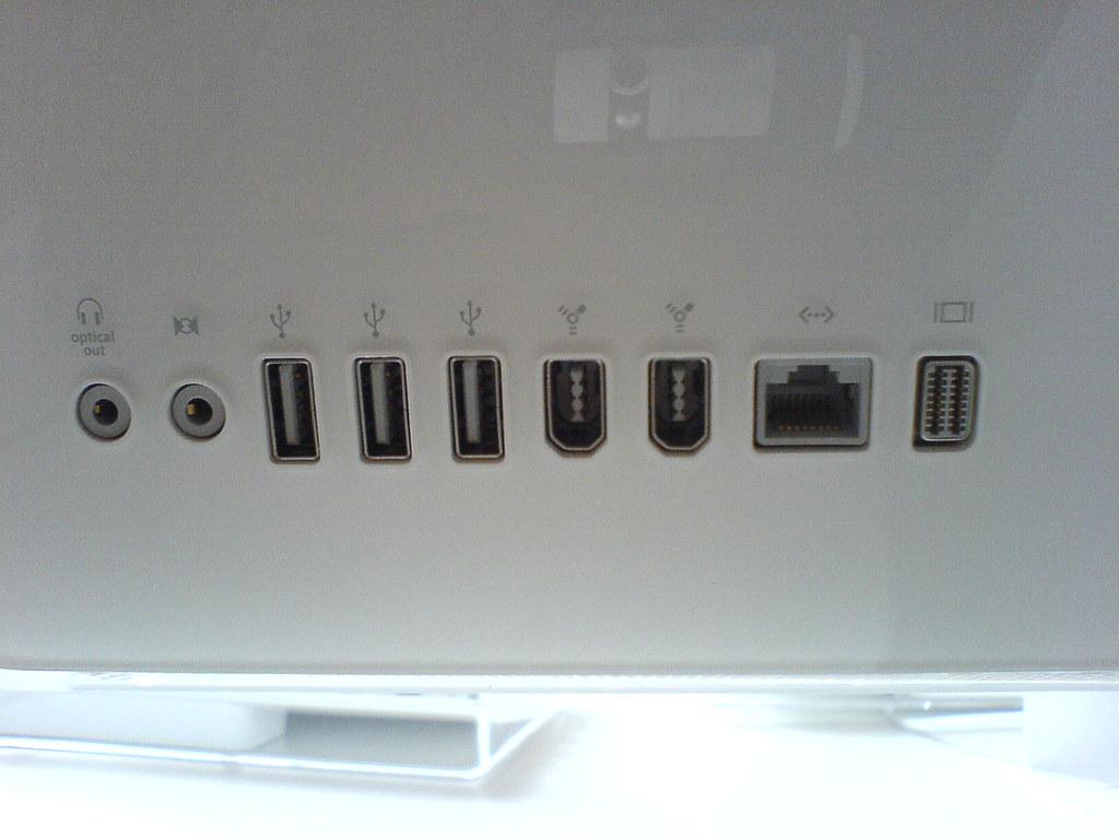 """20"""" Core Duo iMac..."""
