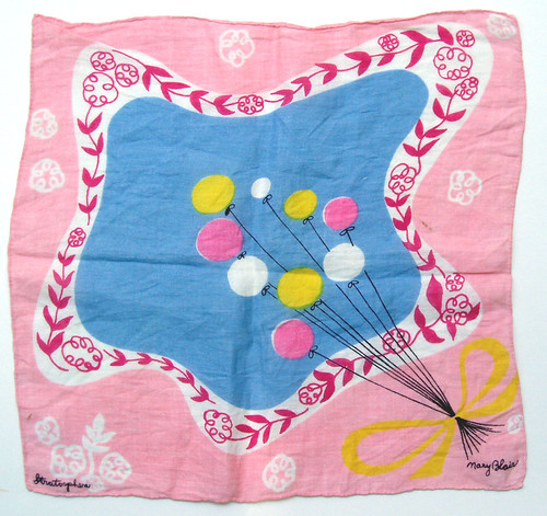 Mary Blair handkerchief | by grickily