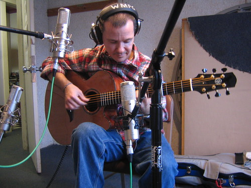 Mike Golay in the studio on 10th March Us Folk | by Ctd 2005