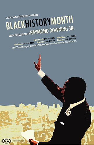 Black History Month Poster 2006 Jorge Balarezo D Niel Perlaky
