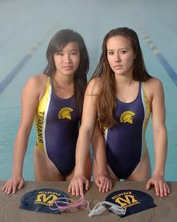 Liz Lisa Milpitas High Girls Swimming Team Captains Elizab Flickr