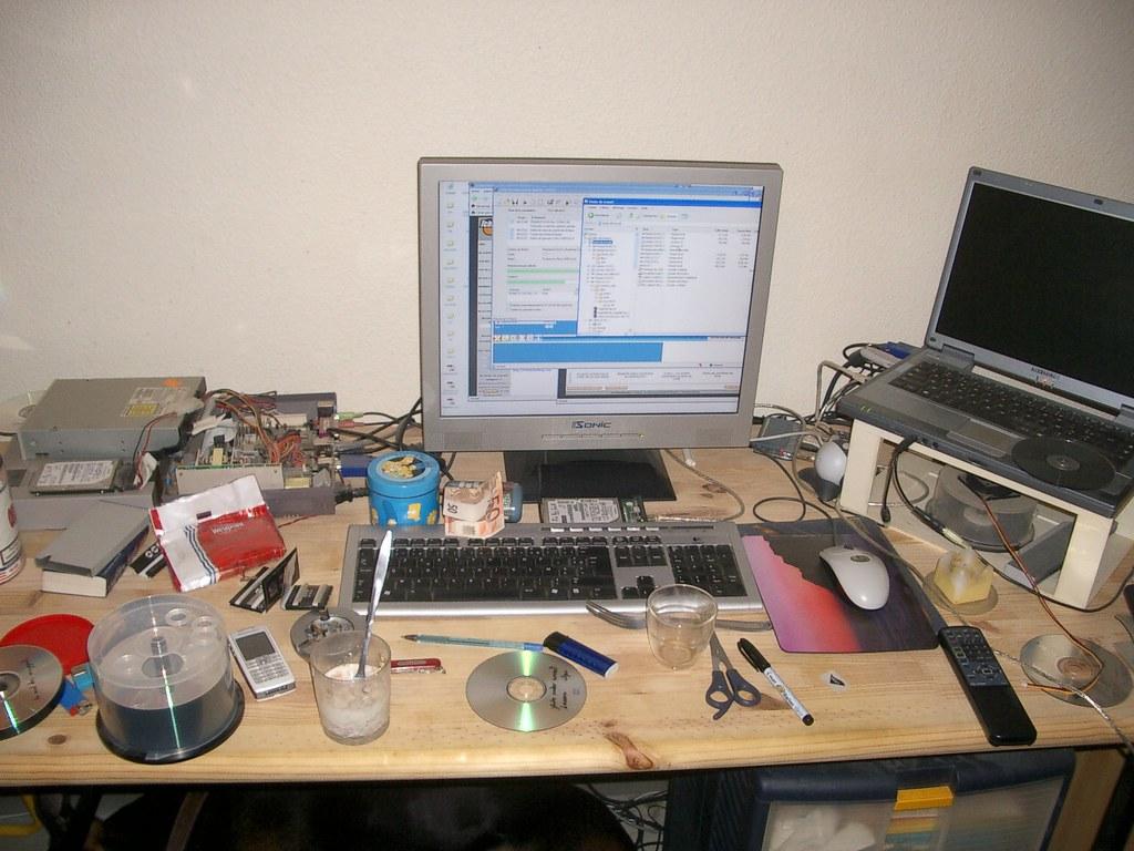 Des bureaux en bordel