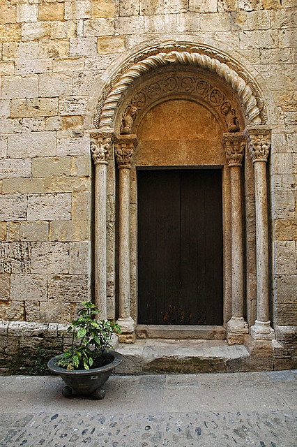 11th century church door besal greg robbins flickr