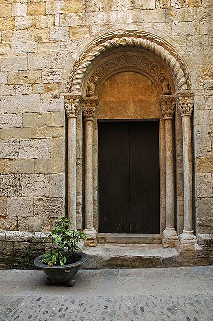 11th century church door besal greg robbins flickr