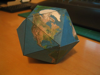 Dymaxion Projection Globe | by super-structure