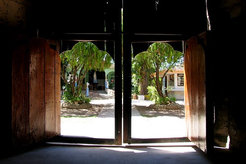 old doors of bantayan church | by adlaw