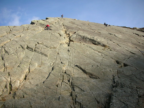 Mal Fraser free-soloing on Tryfan Fach | by Dr Snooks