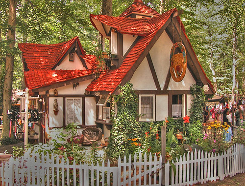 Storybook house i took this shot at the maryland renaissan flickr - Storybook houses dreamy home ...