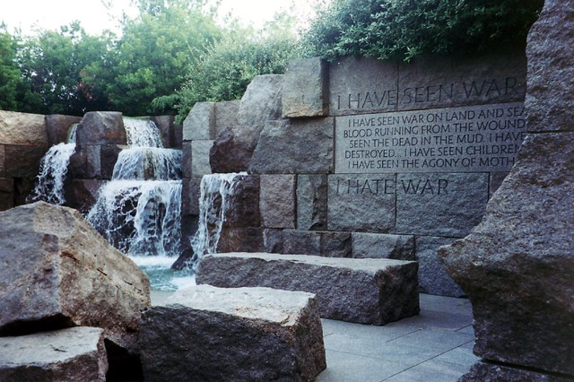 Dc Franklin Delano Roosevelt Memorial Seen War Quot I