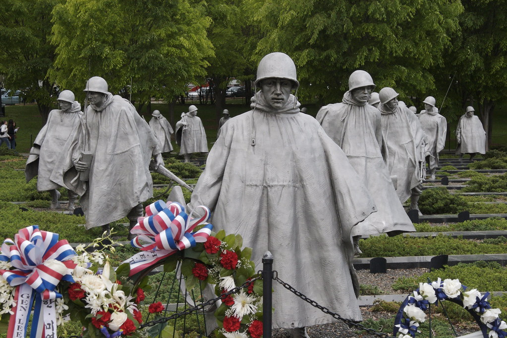 Korean War Memorial From 1950 To 1953 The United States J Flickr