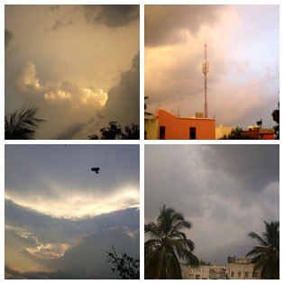 My creation:Drama in the Sky | by Kamala L