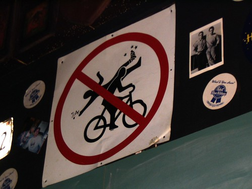 don't run over broke-footed drunks with your bicycle | by 2is3