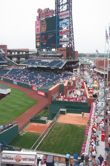 Citizens Bank Park Ashburn Alley The Largest Led Video
