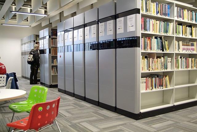 Compact Shelving Glasgow Caledonian University