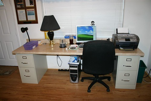 Desk With Cabinets For Kitchen