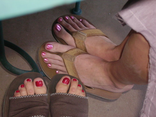 Long toes, I wonder whose those are? | by sages mom